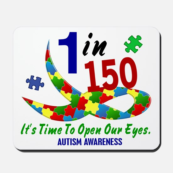 1 In 150 Time To Open Our Eyes Mousepad