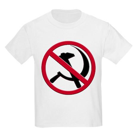 Anti-Communism Kids Light T-Shirt
