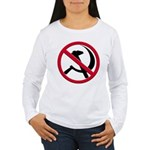 Anti-Communism Women's Long Sleeve T-Shirt