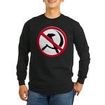 Anti-Communism Long Sleeve Dark T-Shirt