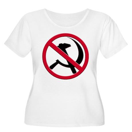 Anti-Communism Women's Plus Size Scoop Neck T-Shir