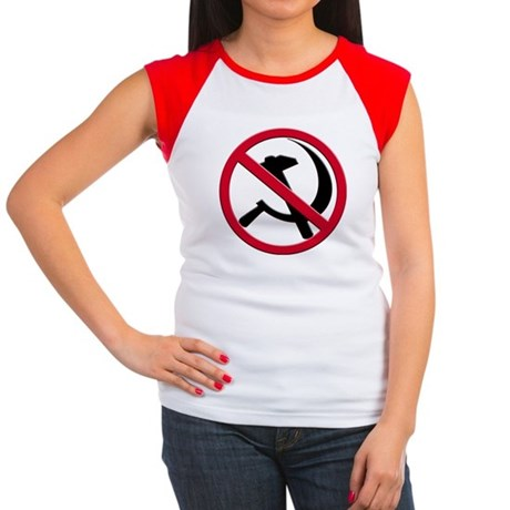Anti-Communism Women's Cap Sleeve T-Shirt