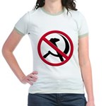 Anti-Communism Jr. Ringer T-Shirt