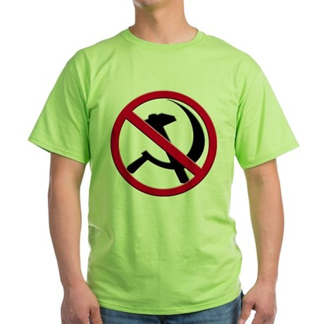 Anti-Communism Green T-Shirt