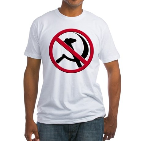 Anti-Communism Fitted T-Shirt