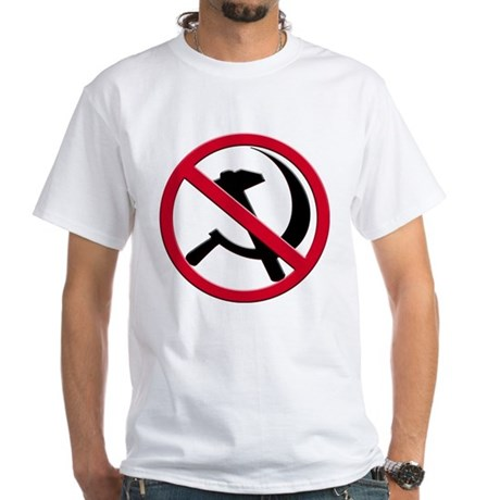Anti-Communism White T-Shirt