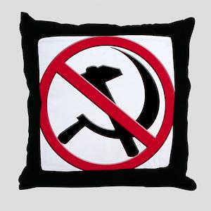 Anti-Communism Throw Pillow