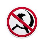 "Anti-Communism 3.5"" Button (100 pack)"