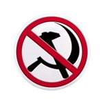 "Anti-Communism 3.5"" Button"