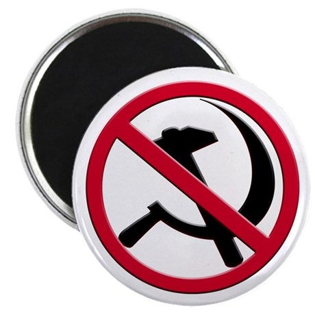 "Anti-Communism 2.25"" Magnet (100 pack)"