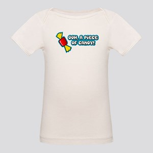 'Ooh Piece Of Candy!' Organic Baby T-Shirt