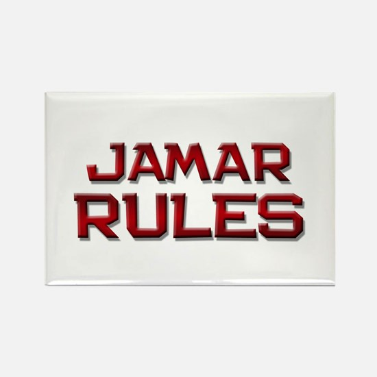 jamar rules Rectangle Magnet
