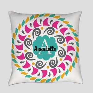 Personalized Monogrammed Gift Everyday Pillow