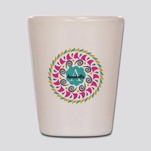 Personalized Monogrammed Gift Shot Glass