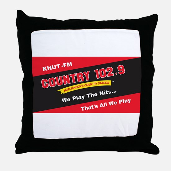 Country 102.9 Throw Pillow