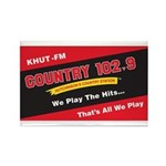Country 102.9 Rectangle Magnet