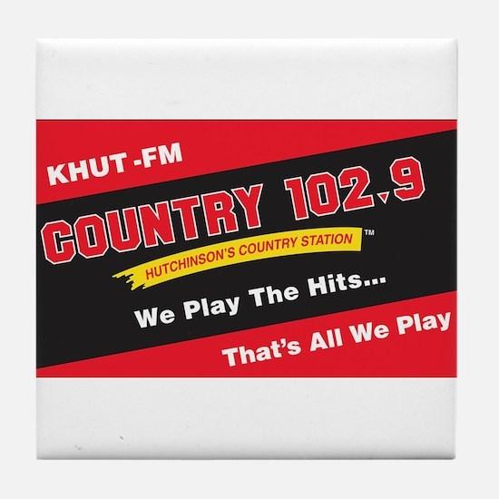 Country 102.9 Tile Coaster