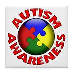 Autism Awareness Tile Coaster
