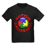 Autism Awareness Kids Dark T-Shirt