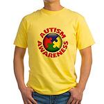 Autism Awareness Yellow T-Shirt
