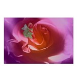 Living With Rose Postcards (package Of 8)