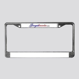 Georgia Secede License Plate Frame