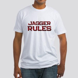 jagger rules Fitted T-Shirt