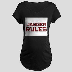jagger rules Maternity Dark T-Shirt