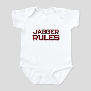 jagger rules Infant Bodysuit