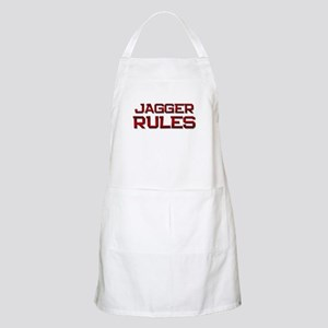 jagger rules BBQ Apron