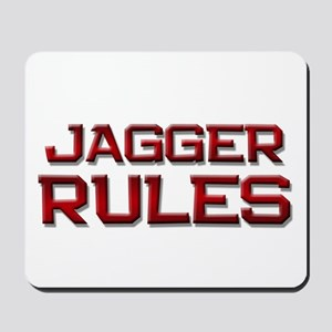 jagger rules Mousepad