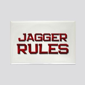 jagger rules Rectangle Magnet