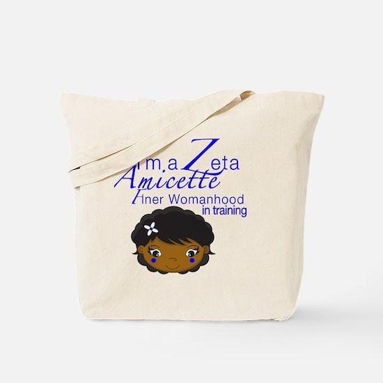 Cute Zeta phi Tote Bag