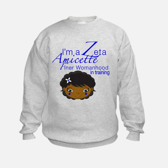 Cute Zeta phi beta amicettes Sweatshirt