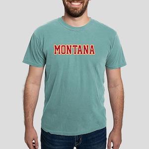 Montana Jersey Red T-Shirt