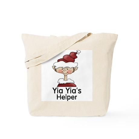 Yia Yia's Helper Elf (Boy) Tote Bag