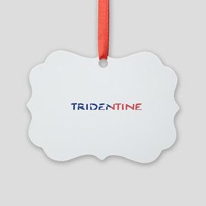 Tridentine Picture Ornament