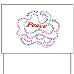 Fred-is-Peace Yard Sign