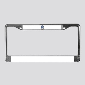 Compassion Lotus License Plate Frame