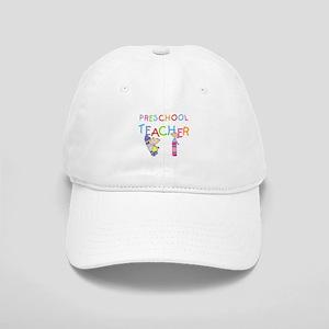 Crayons Preschool Teacher Cap
