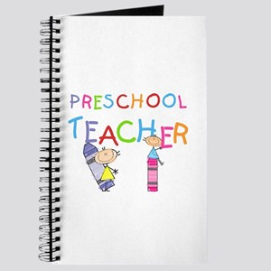 Crayons Preschool Teacher Journal