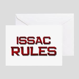 issac rules Greeting Card