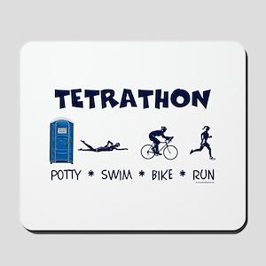 Women's Tetrathon Mousepad