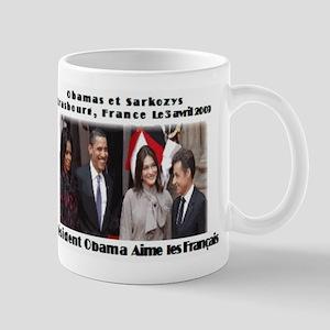 Obamas et Sarkozys Mug