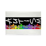 Adjust Your Perspective Rectangle Magnet (100 pack