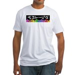 Adjust Your Perspective Fitted T-Shirt