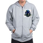 Earth Day Get Well Earth Zip Hoodie