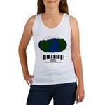 Earth Day UPC Code Women's Tank Top
