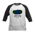 Earth Day UPC Code Kids Baseball Jersey