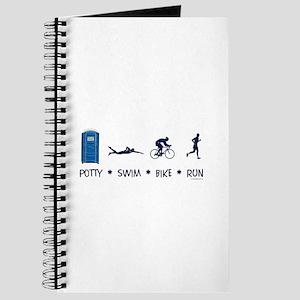 Men's Potty Swim Bike Run Journal